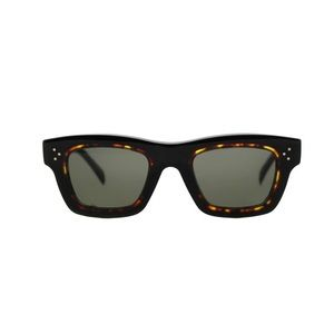 Celine 41396/S T7D70 Havana Acetate Sunglasses